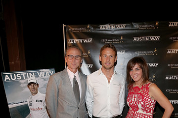 Kathy Blackwell Austin Way Magazine Celebrates Its Nov/Dec Issue With Jenson Button At House Of Walker Austin