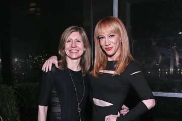 Kathy Griffin E! Fashion Police And NYLON Kickoff NY Fashion Week - Inside