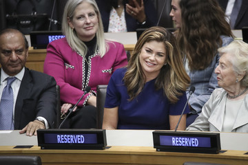 Kathy Ireland President Trump Addresses Meeting On Religious Freedom At The United Nations