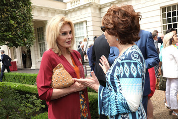 Kathy Lette The Prince of Wales and the Duchess of Cornwall Attend a Reception to Mark Her Royal Highness' 70th Birthday