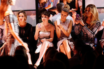 Katie Cassidy Mercedes-Benz Fashion Week Spring 2015 - Official Coverage - People And Atmosphere Day 3