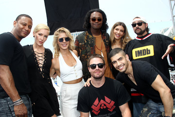 Katie Cassidy Stephen Amell #IMDboat At San Diego Comic-Con 2017: Day Three