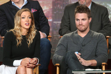 Katie Cassidy Stephen Amell Winter TCA Tour: Day 5