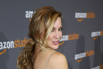 Katie Cassidy Amazon Studios Golden Globes Celebration