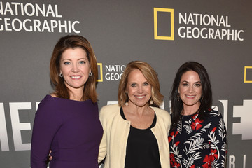 Katie Couric Courteney Monroe National Geographic's 'America Inside Out With Katie Couric' Premiere Screening In NYC