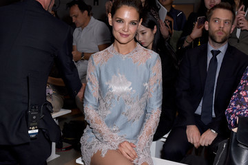 Katie Holmes Lanyu - Front Row - September 2017 - New York Fashion Week: The Shows
