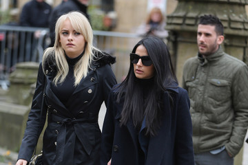 Katie McGlynn Funeral of Coronation Street Scriptwriter Tony Warren