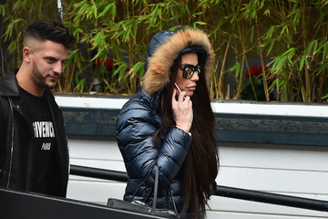 Katie Price London Celebrity Sightings -  January 04, 2018