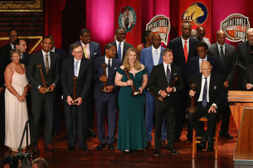 Katie Smith 2018 Basketball Hall Of Fame Enshrinement Ceremony