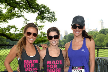 Katrina Hodgson Ashley Greene At Oakley New York Mini 10K