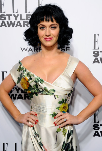 Arrivals at the ELLE Style Awards — Part 4 [arrivals,katy perry,elle style awards,part,hair,fashion model,human hair color,hairstyle,shoulder,flooring,black hair,photo shoot,long hair,carpet,london,embankment,england]