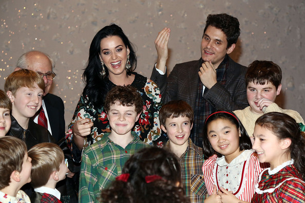 Katy Perry And John Mayer Attend