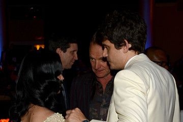 Katy Perry John Mayer The 55th Annual GRAMMY Awards - Pre-GRAMMY Gala And Salute To Industry Icons Honoring L.A. Reid - Backstage and Audience