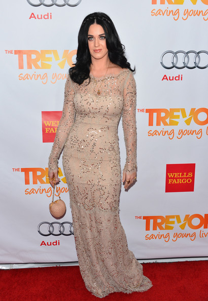 Katy Perry Singer Katy Perry arrives to The Trevor Project's 'Trevor Live' event honoring singer Katy Perry at the Hollywood Palladium on December 2, 2012 in Hollywood, California.