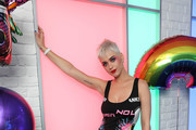 Katy Perry Visits Kiss FM