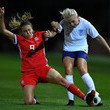 Kayleigh Green Wales vs. England - FIFA Women's World Cup Qualifier