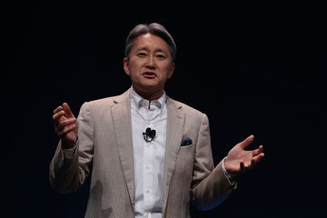 Kazuo Hirai Latest Consumer Technology Products On Display At CES 2017