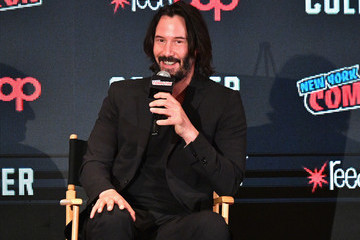 Keanu Reeves 2017 New York Comic Con - Day 1