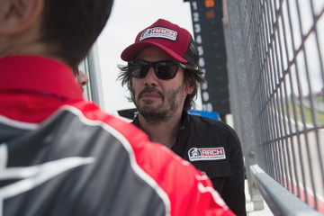 Keanu Reeves MotoGp Red Bull U.S. Grand Prix of the Americas - Race