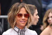Halle Berry attends a handprint ceremony for Keanu Reeves at the TCL Chinese Theatre IMAX forecourt on May 14, 2019 in Hollywood, California.