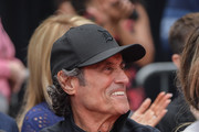 Ian McShane attends 'Keanu Reeves places his hand prints in cement' at TCL Chinese Theatre IMAX on May 14, 2019 in Hollywood, California.