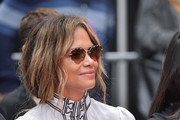 Halle Berry attends 'Keanu Reeves places his hand prints in cement' at TCL Chinese Theatre IMAX on May 14, 2019 in Hollywood, California.