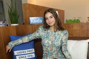 Violetta Komyshan celebrates International Women's Day with Keds at Manhattan Plaza Racquet Club on March 8, 2018 in New York City.