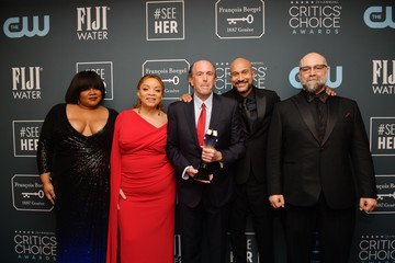 Keegan-Michael Key Da' Vine Joy Randolph 25th Annual Critics' Choice Awards - Press Room