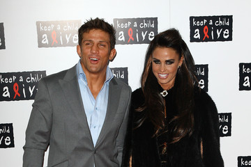 Katie Price Alex Reid Keep A Child Alive - Black Ball - Arrivals