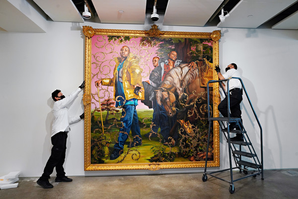 Sotheby's NY Previews Exhibit For Evening Sales Auction Postponed By Coronavirus Pandemic