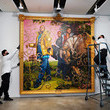 Kehinde Wiley Sotheby's NY Previews Exhibit For Evening Sales Auction Postponed By Coronavirus Pandemic