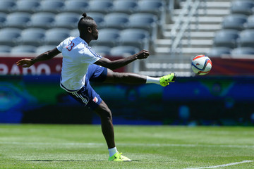 Kei Kamara MLS All-Stars Training Session
