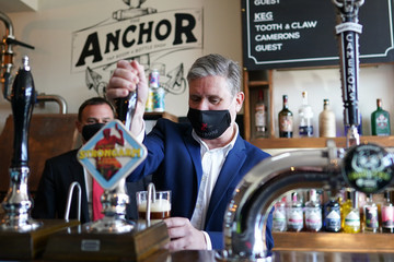 Keir Starmer European Best Pictures Of The Day - April 23