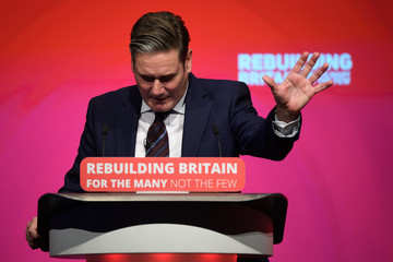 Keir Starmer 2018 Labour Party Conference - Day Three
