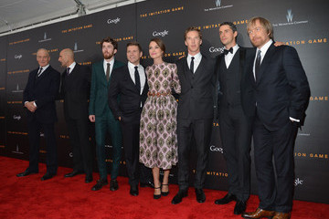 Keira Knightley Morten Tyldum Premiere Of The Imitation Game, Hosted By Weinstein Company