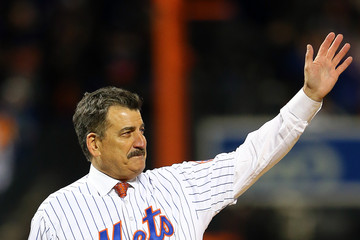 Keith Hernandez League Championship - Chicago Cubs v New York Mets - Game One