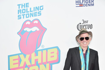 Keith Richards The Rolling Stones - Exhibitionism Opening Night