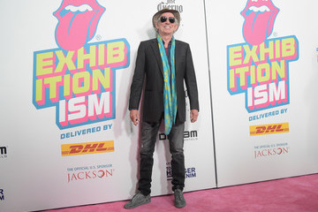Keith Richards The Rolling Stones Celebrate the North American Debut of Exhibitionism at Industria in the West Village - Arrivals