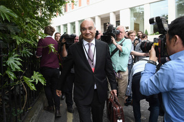 Keith Vaz The Labour Party Hold Their Clause V Meeting To Ratify Their Election Manifesto
