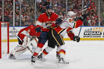 Keith Yandle Calgary Flames v Florida Panthers