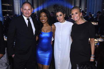 Keke Palmer Elton John AIDS Foundation Commemorates Its 25th Year and Honors Founder Sir Elton John During New York Fall Gala - Inside