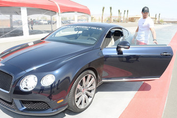 Kellan Lutz Oakley Learn To Ride With O'Gara Coach, Bentley Beverly Hills And Bentley Westlake At Thermal Club