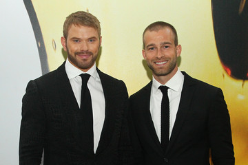 Kellan Lutz Celebs Arrive at the 2015 Fragrance Foundation Awards