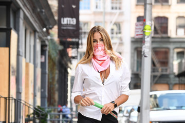 Kelly Bensimon RHONY Alum Kelly Bensimon Steps Out For A Portrait