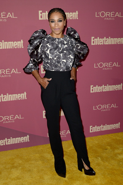 Entertainment Weekly And L'Oreal Paris Hosts The 2019 Pre-Emmy Party - Arrivals [clothing,fashion,footwear,shoulder,joint,red carpet,flooring,premiere,carpet,shoe,arrivals,kelly mccreary,l\u00e2,sunset tower hotel,entertainment weekly,loreal paris hosts,party,tmoreal paris,pre-emmy party]