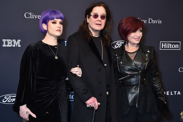 """Kelly Osbourne Sharon Osbourne Pre-GRAMMY Gala and GRAMMY Salute to Industry Icons Honoring Sean """"Diddy"""" Combs - Arrivals"""