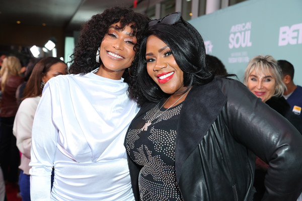 "BET's ""American Soul"" Los Angeles Premiere [event,fashion,outerwear,premiere,black hair,fashion design,jacket,leather,style,kelly price,tami roman,american soul,l-r,los angeles,north hollywood,california,bet,premiere,los angeles premiere]"
