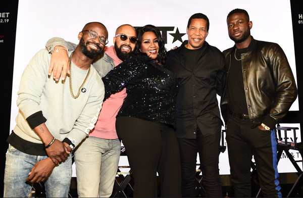 House Of BET - An Immersive Experience [social group,event,kelly price,anthony cornelius,bryan-michael cox,kenny burns,sinqua walls,house of bet,experience,l-r,house of bet - an immersive experience,atlanta city]