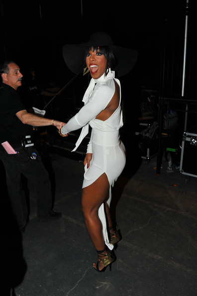 Backstage at BET's Rip the Runway Show