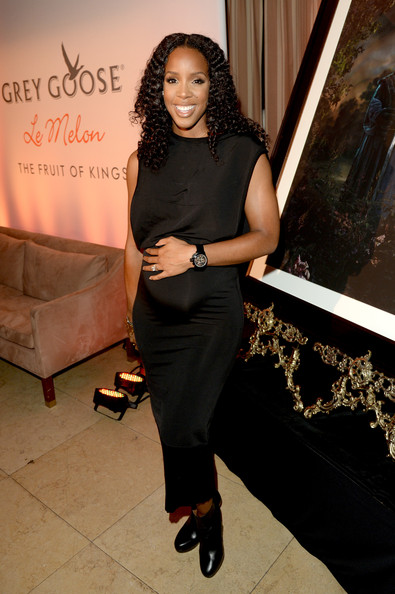 Kelly Rowland - GREY GOOSE Le Melon Toasts Carmelo Anthony